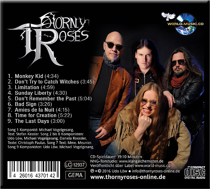 Thorny Roses Home at Last Album CD